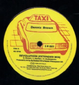 Dennis Brown - Revolution / dub / dub (Taxi) UK 12
